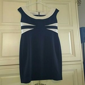 Black and white size 14 dress